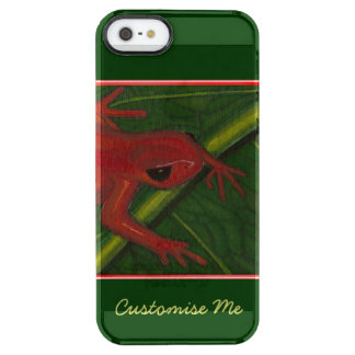 Manny The Mantella (Frog) Clear iPhone SE/5/5s Case