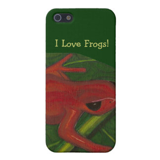 Manny The Mantella (Frog) Cover For iPhone SE/5/5s