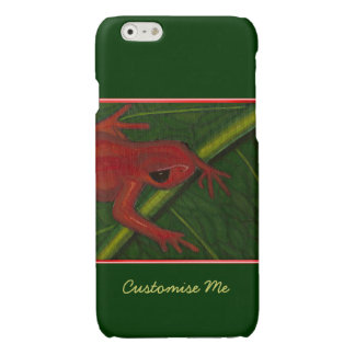 Manny The Mantella (Frog) Glossy iPhone 6 Case