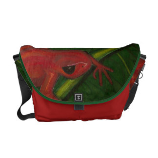 Manny The Mantella (Frog) Messenger Bags