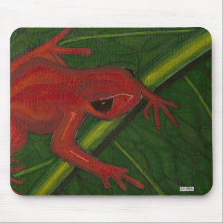Manny The Mantella (Frog) Mouse Pad
