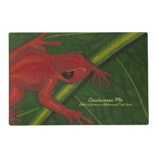 Manny The Mantella (Frog) Placemat