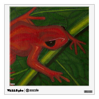 Manny The Mantella (Frog) Wall Stickers