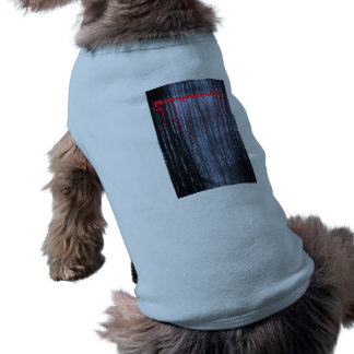 Mannymanster scary woods  Doggie Ribbed Tank Top Dog T-shirt