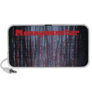 Mannymanster scary woods Doodle speaker