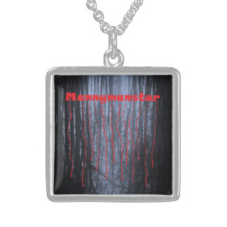 Mannymanster Scary Woods sterling silver necklace