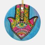 Mano afortunada de Hamsa Ornamente De Reyes