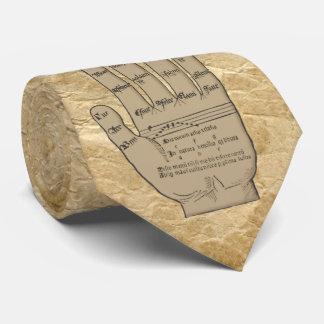 Mano atada de Guidonian, teoría medieval de la Corbata Personalizada