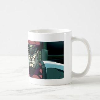 Mano aumentada bisonte tazas de café