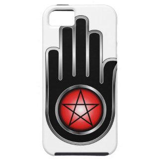 Mano con un pentáculo iPhone 5 Case-Mate cobertura
