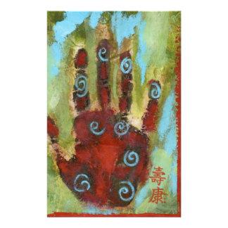 mano curativa 8 papelería de diseño