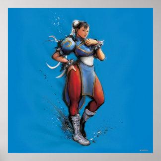Mano de Chun-Li en cadera Poster