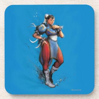 Mano de Chun-Li en cadera Posavasos
