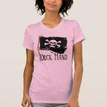 Mano de cubierta alegre de Rogelio Camiseta