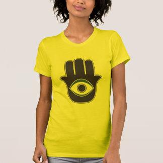 Mano de Hamsa de Khamsa de Fátima del amuleto de l Camiseta