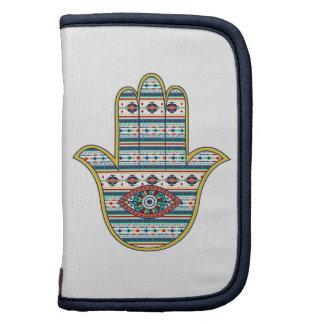 Mano de HAMSA del amuleto del símbolo de Fátima, Organizadores
