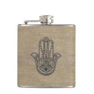 Mano de HAMSA del amuleto del símbolo de Fátima