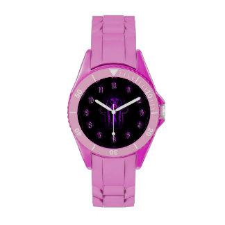 Mano de Hamsa del Celtic (púrpura) Reloj