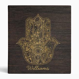 "Mano de HAMSA del diseño del amuleto del símbolo Carpeta 1"""