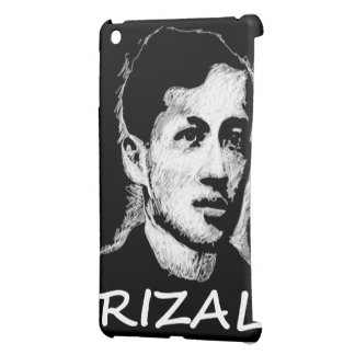 Mano de Jose Rizal dibujada iPad Mini Carcasas