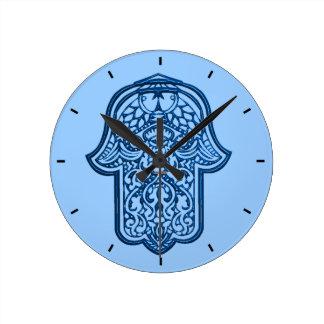 Mano de la alheña de Hamsa azul Relojes