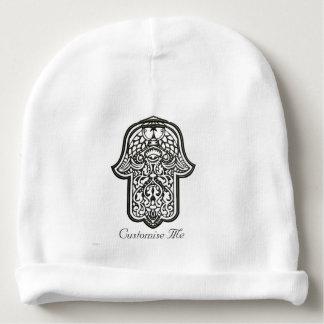 Mano de la alheña de Hamsa (original) Gorrito Para Bebe
