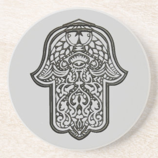 Mano de la alheña de Hamsa (original) Posavasos Personalizados