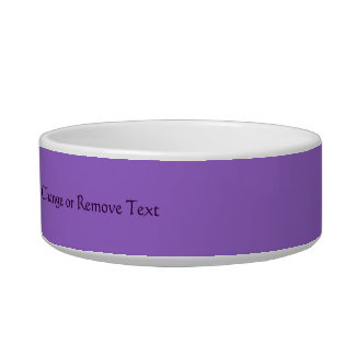 Mano de la alheña de Hamsa (púrpura) Tazon Para Gato