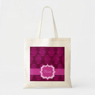 Mano de la alheña de Hamsa (rosa) (boda)
