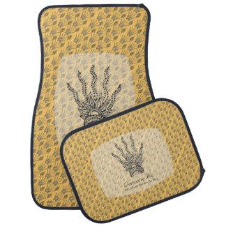 Mano de la alheña (original) alfombrilla de coche