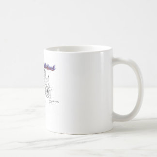 Mano de la banda de rock tazas de café