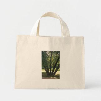 Mano de la bolsa de asas de la naturaleza