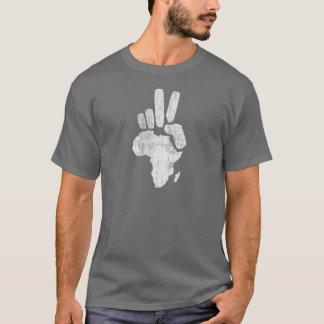 mano de la paz de Darfur África Playera