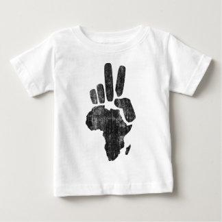 mano de la paz de Darfur África Polera