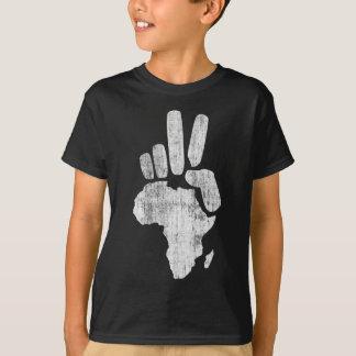 mano de la paz de Darfur África Remeras