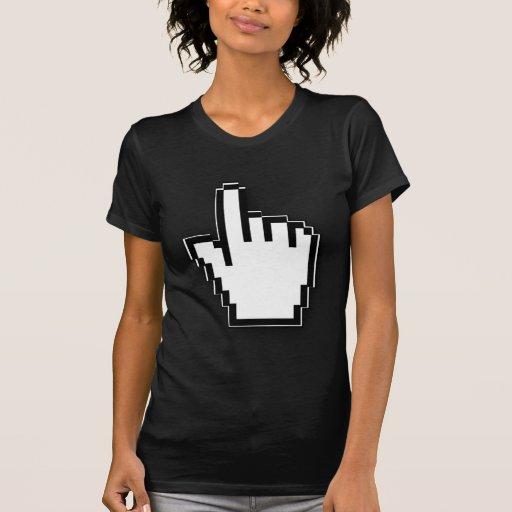 Mano del cursor tshirt