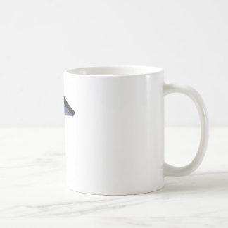 Mano del enjugador del dibujo animado taza básica blanca