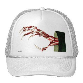 Mano del gorra severo
