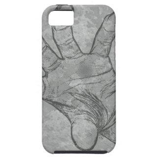 mano del zombi thingy iPhone 5 protectores