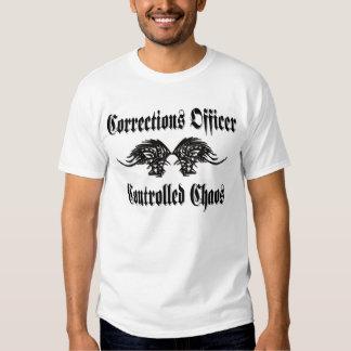 Mano dura controlada de las correcciones del caos camisas