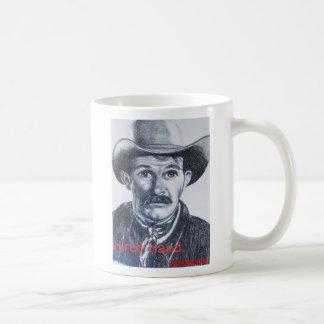 Mano empleada taza