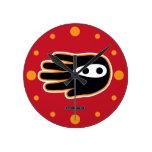 Mano estupenda de Ninja Reloj