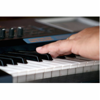 mano izquierda eléctrica del piano que juega diseñ escultura fotografica
