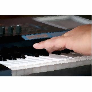 mano izquierda eléctrica painterly del piano que j escultura fotografica