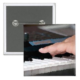 mano izquierda eléctrica painterly del piano que j pins