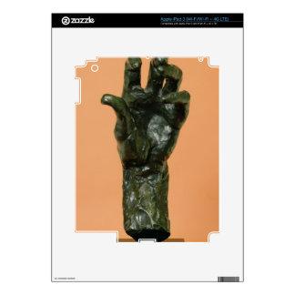Mano izquierda grande (bronce) iPad 3 pegatinas skins