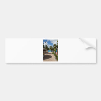 Mano Juan village in Saona Domenican Republic Bumper Sticker