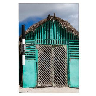 Mano Juan village in Saona Domenican Republic Dry Erase Board