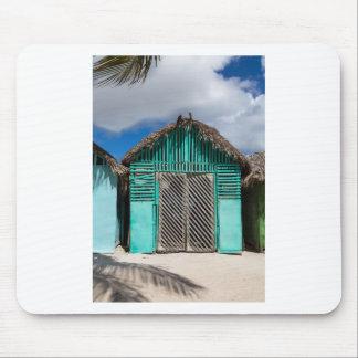 Mano Juan village in Saona Domenican Republic Mouse Pad