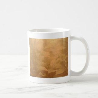 Mano metálica de cobre cepillada taza